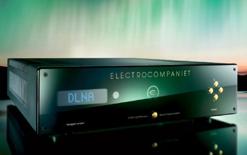 ECI 6DX MK 11 Balanced integrated amplifier with DAC and Next-gen streamer
